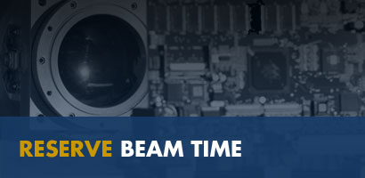 Reserve beam time